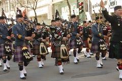 St.Patrick dag in Montreal. Stock Afbeeldingen