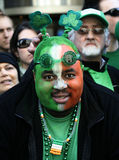 St. Patrick Dag in New York Royalty-vrije Stock Fotografie