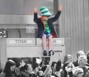 St.Patrick Dag Parad Royalty-vrije Stock Foto's