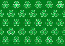 St. Patrick dagachtergrond Royalty-vrije Stock Afbeelding