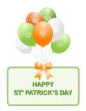 St. Patrick dagballons Royalty-vrije Stock Foto's