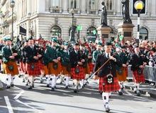 St Patrick dagparade. Royalty-vrije Stock Afbeeldingen
