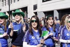 St Patrick dagparade in Londen Stock Afbeeldingen