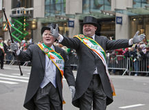 St. Patrick Dagparade New York 2013 Royalty-vrije Stock Foto's