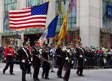 St. Patrick Dagparade New York 2013 Stock Afbeelding