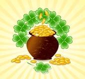St. Patrick dagthema Royalty-vrije Stock Afbeelding