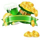 St. Patrick Day vektor illustrationer
