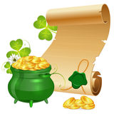St. Patrick Day royalty free illustration