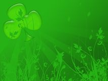 St.patrick day back Royalty Free Stock Photos