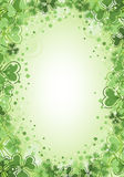 St. Patrick Day Background royalty free illustration