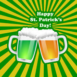 St. Patrick Day background. Royalty Free Stock Photo