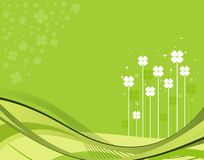 St. Patrick Day Background Stock Image