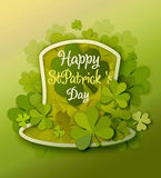 St Patrick Day Background Stock Afbeeldingen