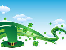 St. Patrick day background Royalty Free Stock Photo
