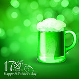 St. Patrick  day card Royalty Free Stock Photo