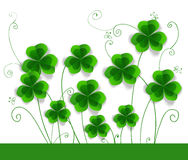 St. Patrick day card Stock Photo