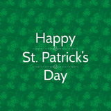 St. Patrick day card Stock Photos