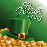 St patrick day card Stock Photography
