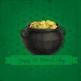 St. Patrick day card Stock Photo
