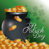 St patrick day card Stock Photo