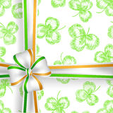 St. Patrick day card Royalty Free Stock Images