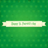 St. Patrick day card Royalty Free Stock Photography