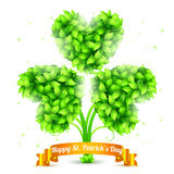 St. Patrick Day Congratulation Stock Photo
