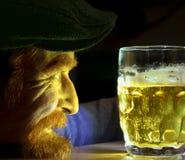 St Patrick Day et homme de gingembre photo stock