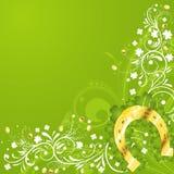 St. Patrick Day frame Stock Image