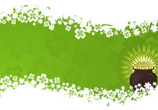St. Patrick Day frame Stock Foto's
