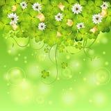 St. Patrick Day Frame stock illustrationer
