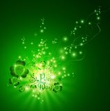 St.Patrick day greeting Stock Photography