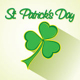 St. Patrick day greeting design Royalty Free Stock Image