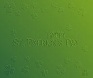 St. Patrick Day holiday card Royalty Free Stock Photography