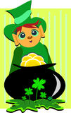 St. Patrick Day Leprechaun Stock Images