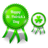 St. Patrick Day Medals Royalty Free Stock Photos