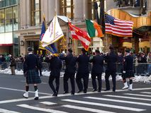 The St Patrick Day Parade stock photography