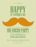 St. Patrick Day poster. St. Patrick Day greeting card EPS 10 Vector Illustration