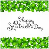St. Patrick Day poster. Royalty Free Stock Photography