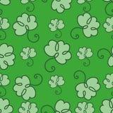 St. Patrick Day seamless pattern royalty free illustration
