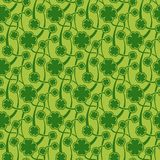St. Patrick day seamless pattern Royalty Free Stock Photos