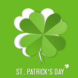 St. Patrick Day sticker Royalty Free Stock Photography