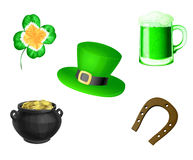 St. Patrick day symbols Royalty Free Stock Photography
