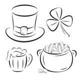 St. Patrick Day symbols Royalty Free Stock Photography