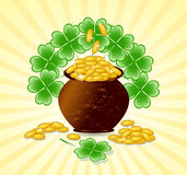 St. Patrick day theme Royalty Free Stock Image