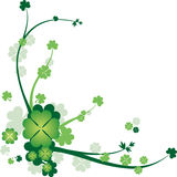 St. Patrick de Achtergrond van de Dag Stock Foto's