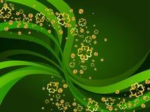 St Patrick de achtergrond van de Dag Royalty-vrije Stock Fotografie