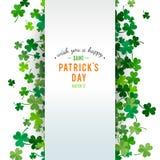 St Patrick de achtergrond van de Dag Illustratie Stock Afbeelding