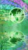 St. Patrick de Achtergrond van Themed van de Dag Royalty-vrije Stock Fotografie