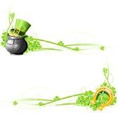 St. Patrick de banners van de Dag Royalty-vrije Stock Fotografie